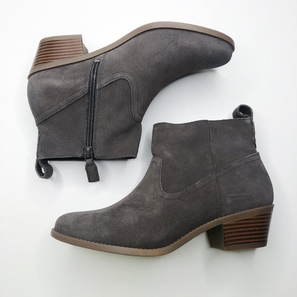 Vionic Shoes   Vionic Vera Suede Ankle